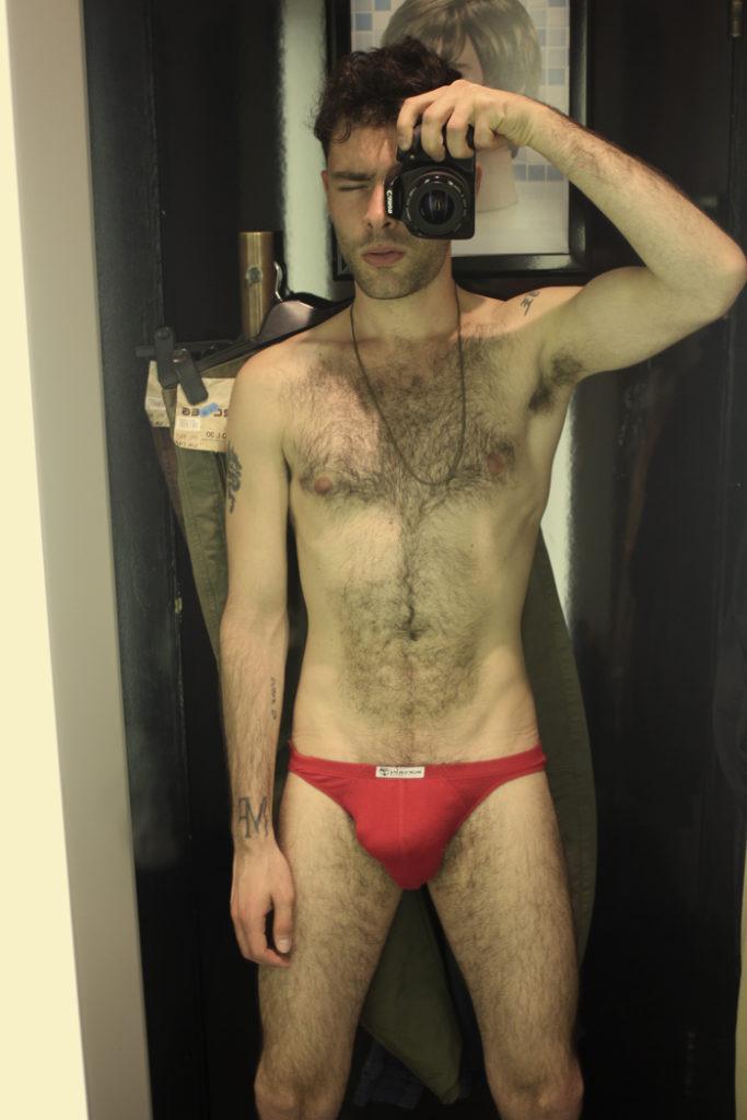 Guy in a Bikini Brief