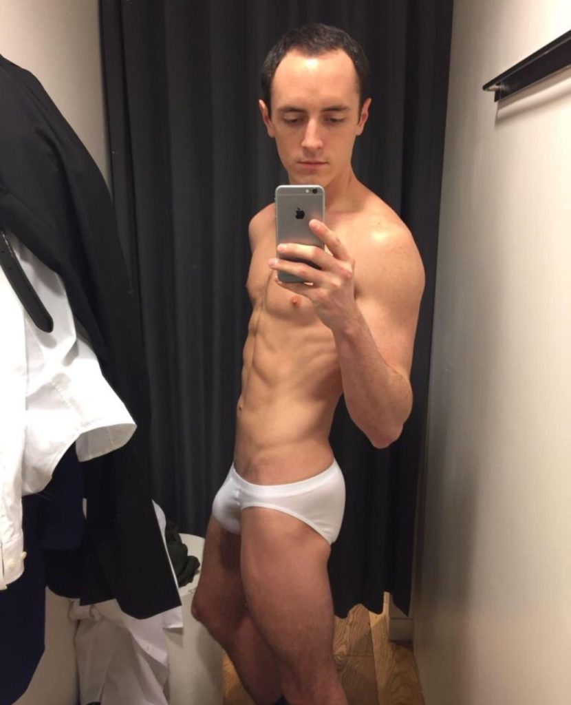 Guy in a White Briefs